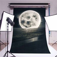 Photography Background Children Photo Props Moon Vinyl Baby Backdrops 5x7FT GQ42