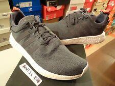 NEW Men's ADIDAS ORIGINALS NMD_R2 - BY3014 Grey Future Harvest Sneaker SZ 13