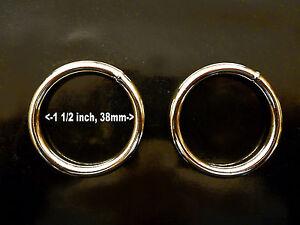 Metal Ring, Welded, 38mm / 1.5 inch Internal Diameter, Two