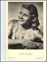 DDR Postkarte Kino Bühne Film Foto Verlag  Schauspielerin Viktoria von Ballasko
