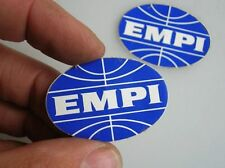 1 EMPI DECAL STICKER AUFKLEBER VW ACCESSORY VINTAGE KÄFER COX BUG VOLKSWAGEN NOS