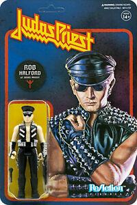 Super7 Judas Priest: Rob Halford Reaction Figure, Multicolor, one-Size