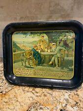 Blatz Old Heidelberg Beer Original Antique Advertising Tray