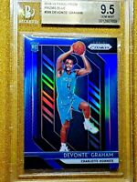 2018-19 DEVONTE GRAHAM Panini Prizm Blue Refractor RC #288 BGS Gem Mint Rookie