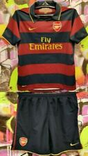 Arsenal London 2007-08 Third Football Soccer Kit Jersey and Shorts Youth Size L