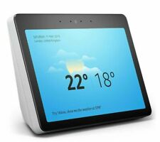 Amazon Echo Show 2nd Generation - White Smart Home Alexa Video Voice Assistant