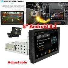 "8"" Android 8.1 Car Stereo Navigation GPS Radio Head Unit Camera Mirror Link 1Din"