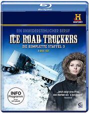Ice Road Truckeres 3.Staffel Blueray 3er Disc Set Neu+in Folie eingeschweiß #L2