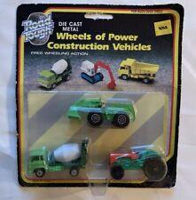 Road Tough Wheels of Power Construction Vehicles w/Cement Mixer Truck