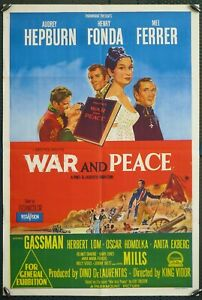 War and Peace - original 1sh (USED)