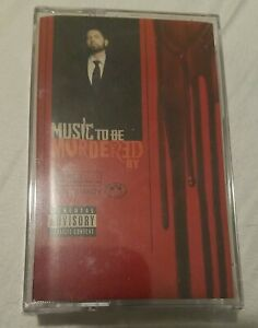 Eminem, Slim Shady – Music To Be Murdered By / Official Black Cassette Europe