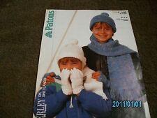 Knitting pattern per bambino Cappelli, Guanti e Sciarpa