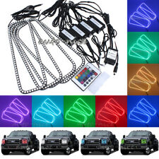 Remote Control 16-Color RGB Angel Eyes Halo Rings Light For Ford F-250 2005-2007