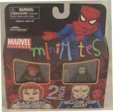 Marvel Minimates Series 34 2Pack Black Queen Jean Grey & Hellfire Club Guard
