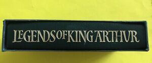 Legends of King Arthur - Richard Barber - ¼ Leather - Folio Society 2000
