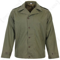 American M41 Jacket - WW2 US Army Olive Drab Field Uniform GI Lined Repro New
