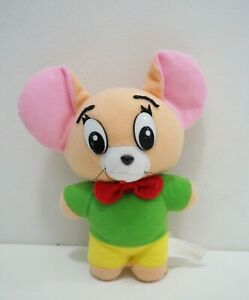 "Tom & Jerry Turner Entertainment Vintage 7"" Plush Stuffed Toy Doll"