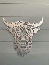 Highland Cow Male - Steel / Metal / Garden Wall Art