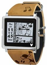 Epson Smart Canvas Mickey Mouse Vintage Series Brown Watch W1-Dy10110