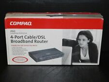 Nos Vtg Compaq iPaq Connection Point Cp-2E 4 Port Cable Dsl Broadband Router New