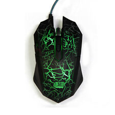 Adesso iMouse G3 Illuminated Gaming Mouse - Optical - Cable - USB - 2400 dpi