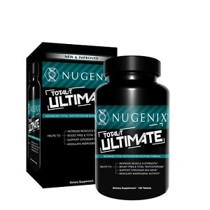 Nugenix Total-T Ultimate Advanced Total Test Boosting 120 Tabs NEW & IMPROVED