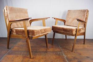 60er Chair Vintage Club Chair 60s Easy Chair Danish Modern mid-Century 1/2