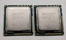 Matched Pair (2x) Intel Xeon X5670 6-Core 2.93GHz SLBV7 LGA1366 Socket 12MB CPU