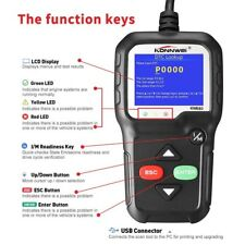 ODB2 EOBD KW680 Auto Car Diagnostic Tool Tester Code Reader Engine Check Scanner