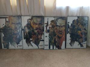 Call of Duty Black Ops zombies posters Yoji Shinkawa MGS artist authentic rare