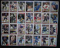 1991-92 O-Pee-Chee OPC St. Louis Blues Team Set of 28 Hockey Cards
