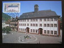 Bund, BRD Maximumkarten MiNr. 1299 Ersttag Heidelberg gestempelt (B 894)
