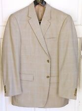"""LikeNEW_ANDREW FEZZA Signature Collection """"Cary"""" Sport Coat_Sz.44L_Houndstooth"""
