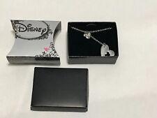 Disney Mickey Mouse Ear Heart Pendant Necklace