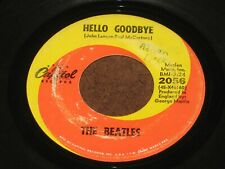 45 rpm The Beatles I am the Walrus Capitol 2056 Hello Goodbye
