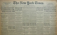 5-1930 May 24 GANDHI SALT RAIDS NAIDU JAILED BOMBAY NANKING ZEPPELIN BRAZIL.