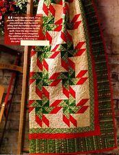 Christmas Barn Dance Quilt Pattern Pieced JW