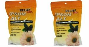 Relief Green Tea and Chamomile Epsom Salt, Pack of 2