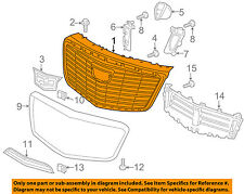 Cadillac GM OEM 2015 CTS-Grille Grill 23441801