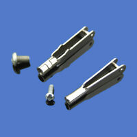 10x 10-160mm Φ1.6mm Stainless Steel Shaft Transmission Gear Connecting Rod Axle