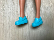 Blue sneakers trainers shoes fit Barbie