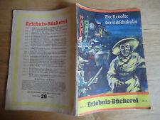Erlebnisbücherei Heft 16 Die Revolte der Rikschakulis