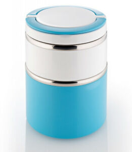 NAGO Thermo Lunchbox Müslibox Mampfbox groß  blau
