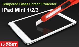 Resist Tempered Glass Screen Protector LCD Film Guard for Apple iPad mini 1 2 3