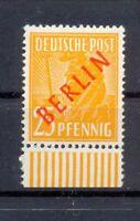 Berlin 27 Rotaufdruck 25 Pfg. WUR postfrisch tiefst geprüft HG Schlegel (lr155)
