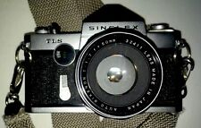 Vintage RICOH Singlex TLS 35mm Camera with Auto Rikenon 1.7Lens Nice Condition