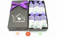 French Raw Lavender Sachets Herbal Dry Flower Purifying Odor Gift Box