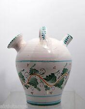 BELLE CHEVRETTE céramique ST UZE signée BABOIN h: 22,5 cm diam:17cm