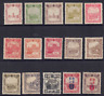 CHINA/MANCHUKUO - SELECTION OF MINT NH/LH STAMPS (2 SCANS)
