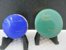 Vintage Pair Park & Tilford and Ruth Rogers Hollywood Rouge Boxes